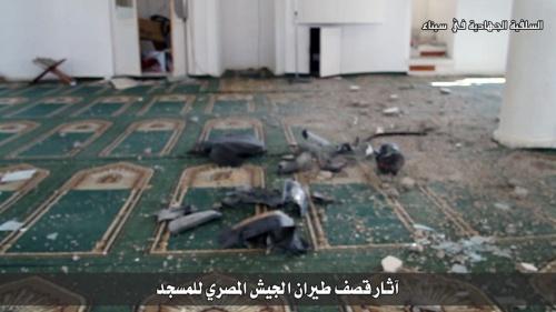 صور قصف المقاطعة والثومة 7