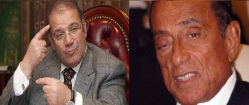 حسين سالم (يمين) وحسن راتب (يسار)